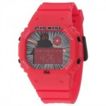 Lego Children's Red Plastic Quartz Watch with Digital Dial