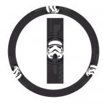 Storm Trooper Villain Character Head Mask Star Wars Steering Wheel Cover