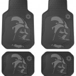 Star Wars Darth Vader with Galactic Empire Logo Front & Rear Seat Rubber Floor Mats