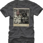 Star Wars Wookie Photo Bomb Mens Charcoal Heathered Tee
