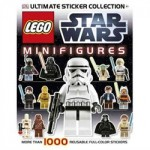 Ultimate Sticker Collection: Lego Star Wars Minifigures Book