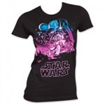 Star Wars Women's Starry Placeholder T-Shirt