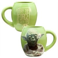 Star Wars Yoda May the Force Be With You 18 oz Ceramic Mug