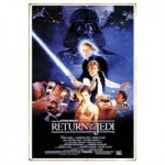 Star Wars: Return of the Jedi Style B Movie Poster Heavy Gauge Tin Sign