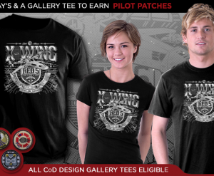 Star Wars Gifts TeeFury Tshirt and Patches Promo