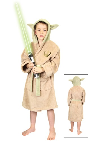 Star Wars Yoda Kids Fleece Robe