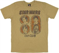 Star Wars Official Fan Club Celebration T-Shirt Sheer by JUNK FOOD