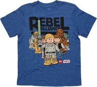 Star Wars Lego Rebel Alliance Youth T-Shirt