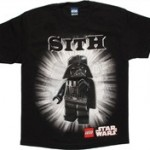 Star Wars Lego Sith Lords Black Youth T-Shirt