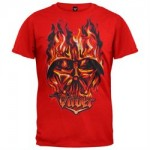 Star Wars – Flaming Vader Juvy T-Shirt
