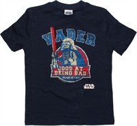 Star Wars Lego Darth Vader Good Bad Juvenile T-Shirt